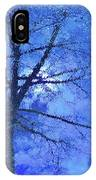 Asphalt-tree Abstract Refection 02 IPhone Case