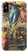 Assumption Of The Virgin 1577 IPhone Case