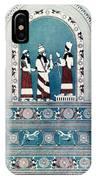 Assyrian King, C720 B.c IPhone Case