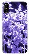 Astilbleflowers In Violet Hue IPhone Case