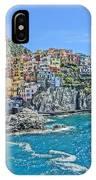 Astonishing Magnificient Manarola In Cinque Terre IPhone Case