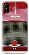 Astonmartin Db2/4 Mark IIi IPhone Case