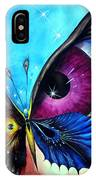 Astral Butterfly. Soul - Memory - Mind IPhone Case