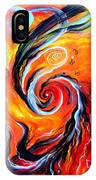 Astral Travels. Fire Way Out Of The Death IPhone Case