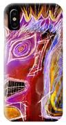 Astroface Firehead IPhone Case