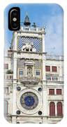 Astronomical Clock At San Marco Square IPhone Case