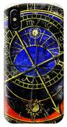 Astronomical Clock In Grunge Style IPhone Case