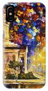 Asuncion Paraguay - Palette Knife Oil Painting On Canvas By Leonid Afremov IPhone Case