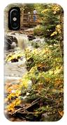 At The Beginning Of Chapel Falls IPhone Case
