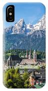 At The Foot Of The Watzmann IPhone Case