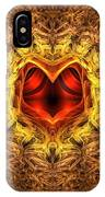 At The Heart Of The Matter IPhone Case