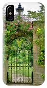 At The Secrete Gate To The Garden. IPhone Case
