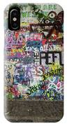 Lennon Wall IPhone Case