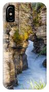 Athabasca Falls Jasper National Park Canada IPhone Case