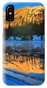 Athabasca River Glow IPhone Case