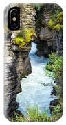 Athabaska River Slot Canyon IPhone Case
