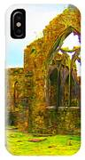 Athenry Ruin IPhone Case