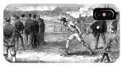 Athletics: Shot Put, 1875 IPhone Case