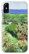 Atiu Lake View IPhone Case