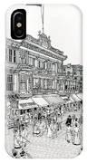 Atlantic City Boardwalk 1900 IPhone Case