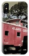 Atlantic Coast  Line Railroad Carriage IPhone Case