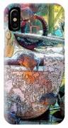 Atlantis Aquarium In Watercolor IPhone Case