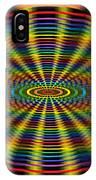 Atomic Rainbow IPhone Case