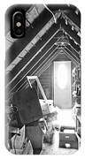 Attic Space Bw IPhone Case