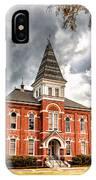 Auburn University - Hargis Hall IPhone Case