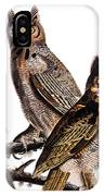 Audubon: Owl, (1827-1838) IPhone Case