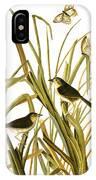 Audubon: Sparrow, (1827) IPhone Case