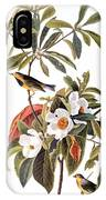 Audubon: Warbler, 1827-38 IPhone Case