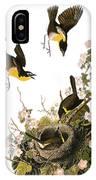 Audubon: Yellow Chat, (1827-38) IPhone Case