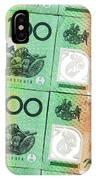 Aussie Dollars 09 IPhone Case