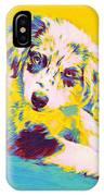 Aussie Puppy-yellow IPhone Case