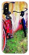 Austin Texas Bikes  -- Original Painting IPhone Case
