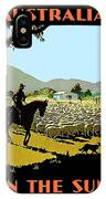 Australia, Shepherd IPhone Case