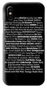 Australian Music Scene 1970's No 1 IPhone Case
