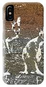 Australian Red Kangaroos IPhone Case