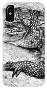 Australian Shy Crocodile  IPhone Case