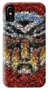 Autobot Transformer Bottle Cap Mosaic IPhone Case
