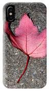 Autum Maple Leaf 2 IPhone Case
