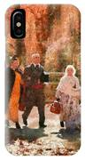 Autumn - People - A Walk In The Countryside IPhone Case