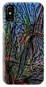 Autumn Abstraction IPhone Case