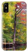 Autumn Along Brices Creek IPhone Case