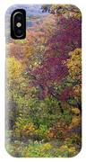 Autumn Arrives In Brown County - D010020 IPhone Case