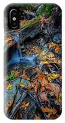 Autumn At A Mountain Stream IPhone Case