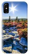 Autumn At Bear Rocks IPhone Case