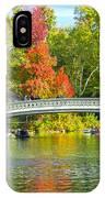 Autumn At Bow Bridge Central Park IPhone Case