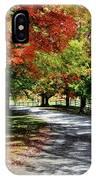 Autumn At Oatlands Lane IPhone Case